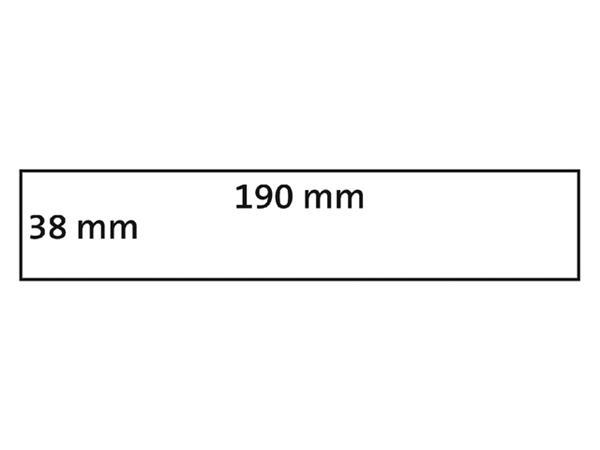 LABEL ETIKET DYMO 99018 38MMX190MM ORDNER SMAL WIT
