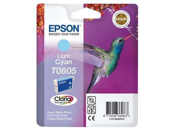 INKCARTRIDGE EPSON T080540 LICHT BLAUW