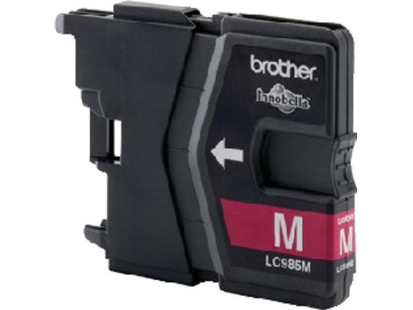 Inktcartridge Brother LC-985M rood