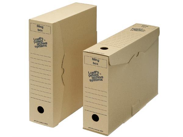 ARCHIEFDOOS LOEFF FILING BOX 3003 345X250X80MM KRT