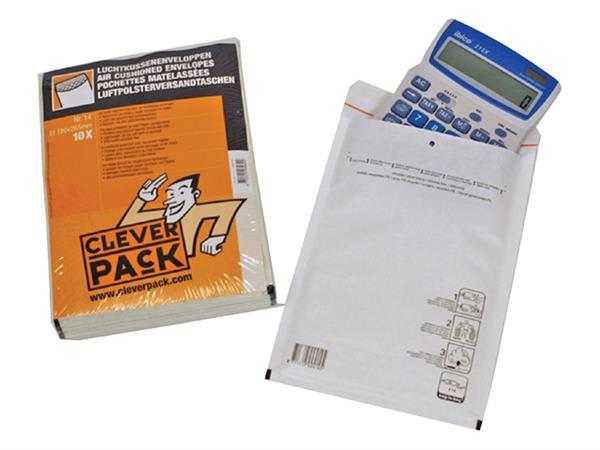 ENVELOP CLEVERPACK LUCHTKUSSEN 19 320X455 WIT