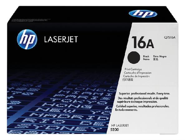 Tonercartridge HP Q7516A 16A zwart