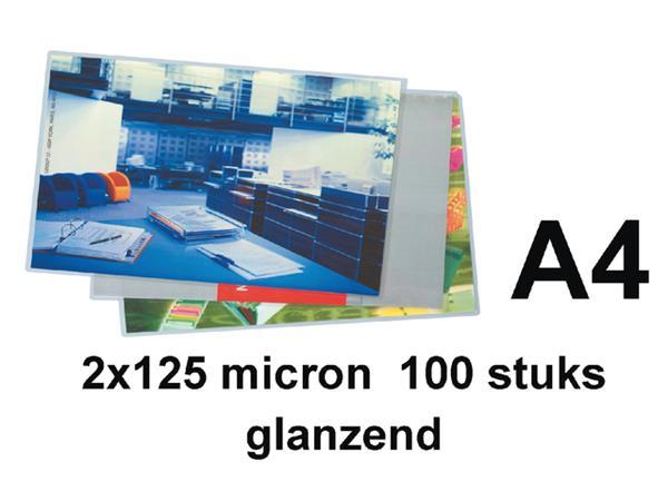 Lamineerhoes Quantore A4 2x125micron 100stuks