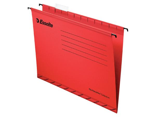 HANGMAP ESSELTE CLASSIC VERT FO V-BODEM ROOD