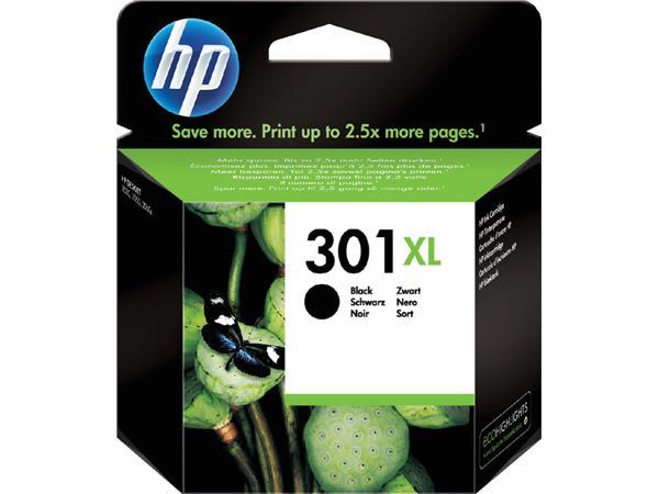 Inktcartridge HP 301XL CH563EE HC zwart