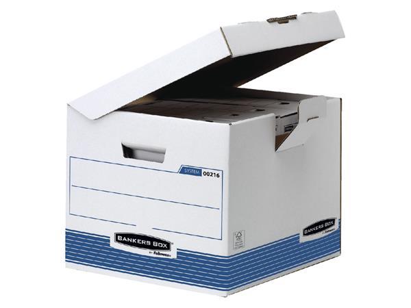 OPBERGDOOS BANKERS BOX SYSTEM FLIP TOP KUBUS