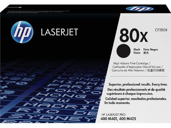 TONERCARTRIDGE HP 80X CF280X 6.9K ZWART