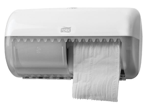 Dispenser Tork T4 557000 toiletpapierdispenser wit