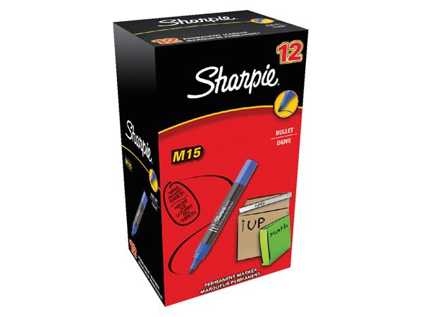 VILTSTIFT SHARPIE M15 ROND 1.8MM BLAUW