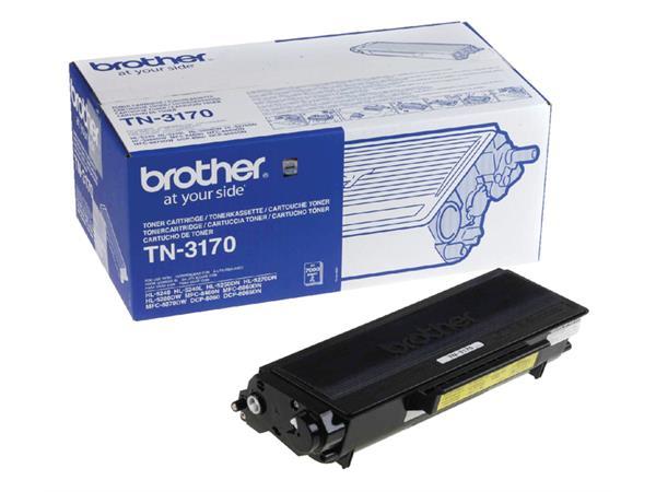 TONER BROTHER TN-3170 7K ZWART
