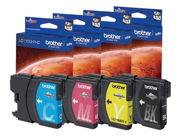 INKCARTRIDGE BROTHER LC-1100 HC ZWART