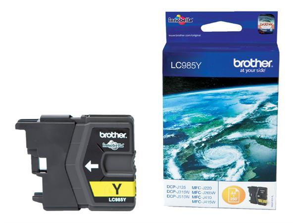 Inktcartridge Brother LC-985Y geel