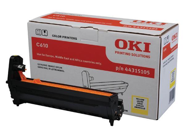 DRUM OKI 44315105 C610 20K GEEL