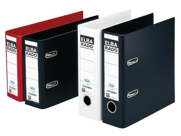 ORDNER ELBA RADO PLAST A5 75MM PVC ZWART