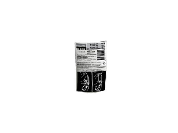 Handzeep Satino Black vulling alcoholgel 6x750ml