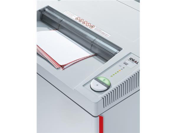 Papiervernietiger Ideal 4002 stroken 6mm
