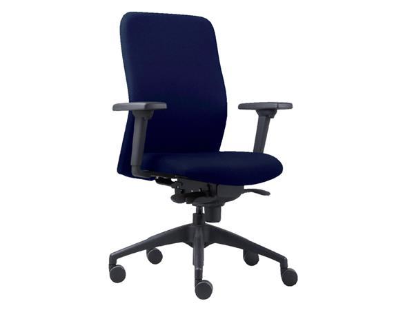 Bureaustoel Euroseats Vigo blauw