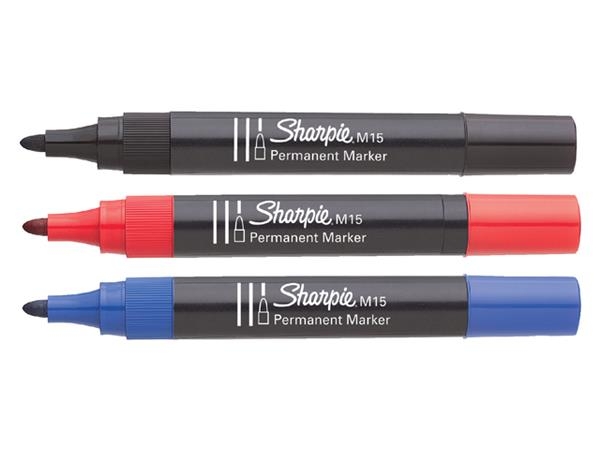 VILTSTIFT SHARPIE M15 ROND 1.8MM ZWART