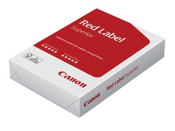 Kopieerpapier Canon Red Label Superior A4 80gr wit 500vel
