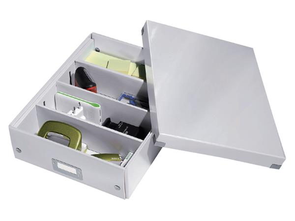 Opbergbox Leitz Click & Store 280x100x370mm wit