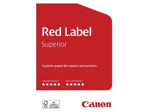 KOPIEERPAPIER RED LABEL SUPERIOR A3 80GR WIT