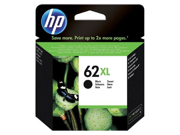Inktcartridge HP C2P05AE 62XL zwart HC