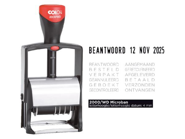 WOORD-DATUMSTEMPEL COLOP S2000