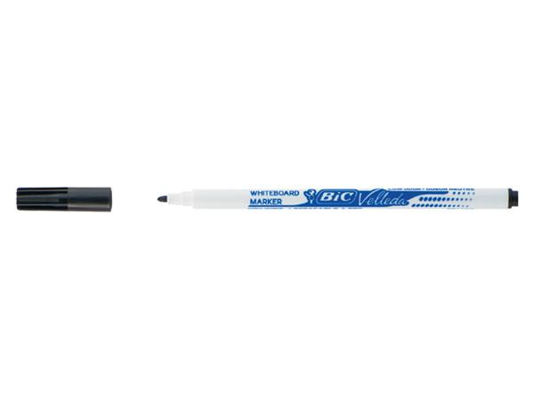 Viltstift Bic 1721 whiteboard rond zwart 1.5mm