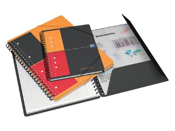 Spiraalblok Oxford International Meetingbook A5+ lijn