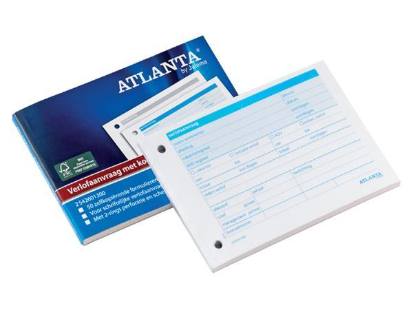 Verlofaanvraag Atlanta A6 zelfkopierend 50vel