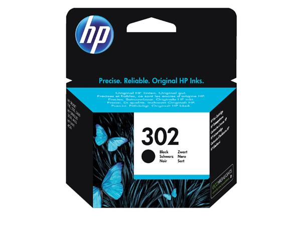 Inktcartridge HP 302 F6U66AE zwart