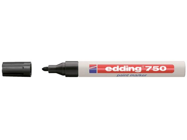 VILTSTIFT EDDING 750 LAK ROND 2-4MM ZWART