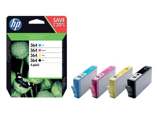 INKCARTRIDGE HP 364 N9J73AE ZWART 3 KLEUREN