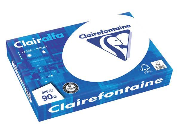 KOPIEERPAPIER CLAIREFONTAINE CLAIRALFA A4 90GR WT