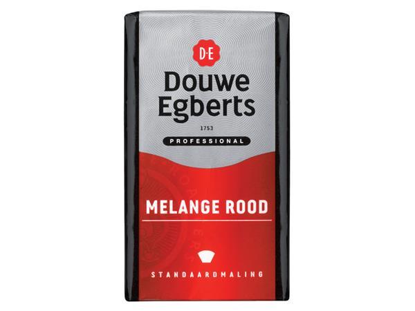 Koffie Douwe Egberts snelfiltermaling Roodmerk 250gr