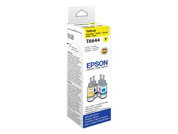 INKCARTRIDGE EPSON T664440 GEEL