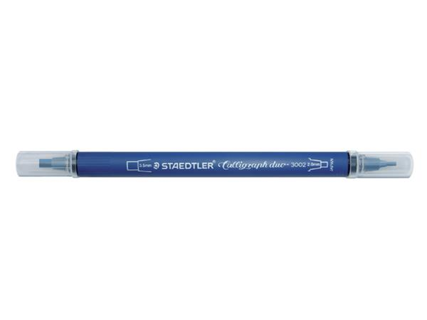 KALLIGRAFIEPEN STAEDTLER DUO PUNT 2.0 EN 3.5MM ASS