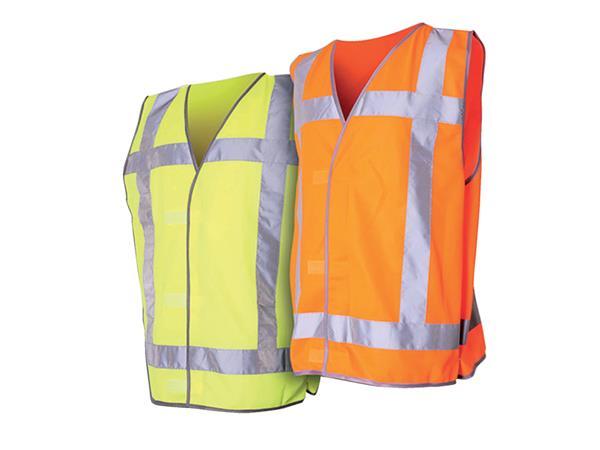 Veiligheidsvest QW3 fluor geel