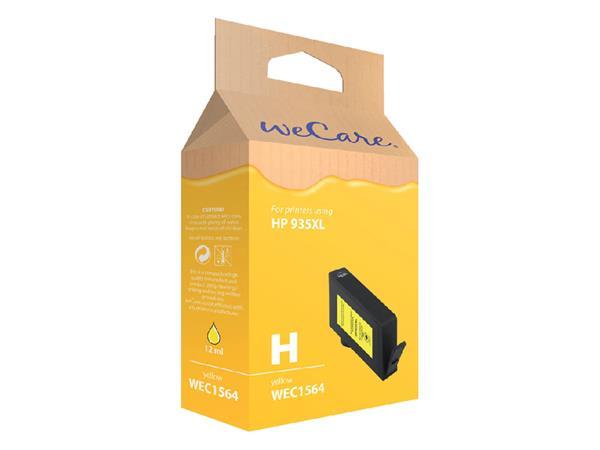 Inkcartridge Wecare HP C2P26AE 935XL geel