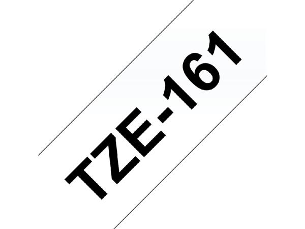 LABELTAPE BROTHER TZE-161 36MMX8M TR/ZWART