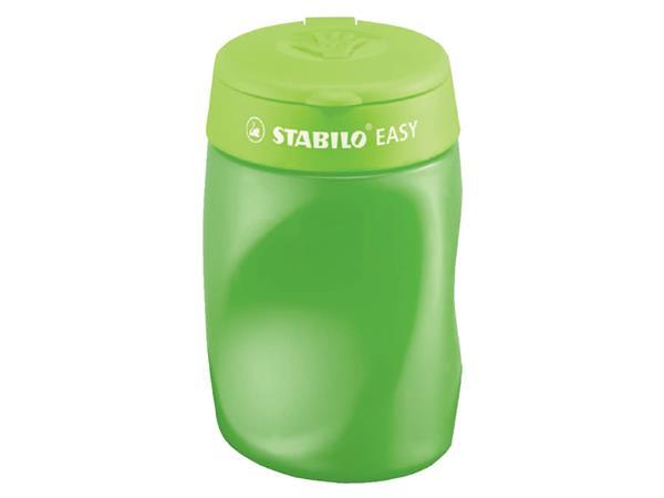 Puntenslijper STABILO Easy 4502 3 in 1 rechtshandig groen