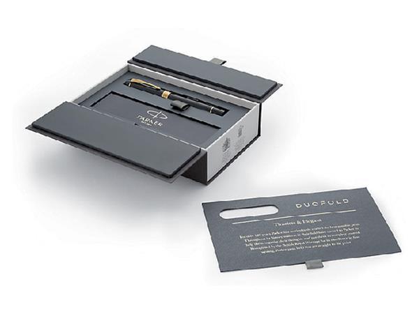 Vulpen Parker Duofold Centennial black & gold F 18K