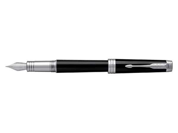 Vulpen Parker Premier Lacquer deep black ST M 18K