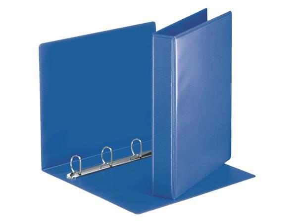 Presentatieringband Esselte A4 4-rings D-mech 30mm blauw