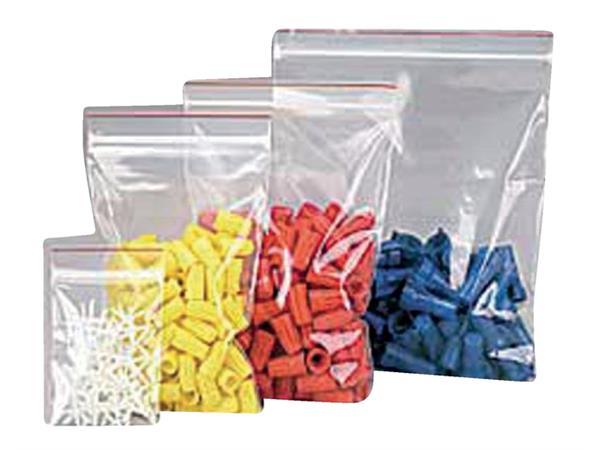Verpakkingszak grip 70x100mm 50mu hersluitbaar 25 stuks