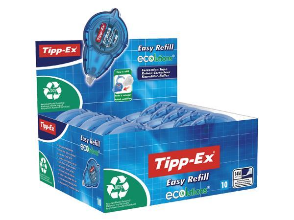CORRECTIEROLLER TIPP-EX EASY ECOLUTIONS 5MM NAVULB