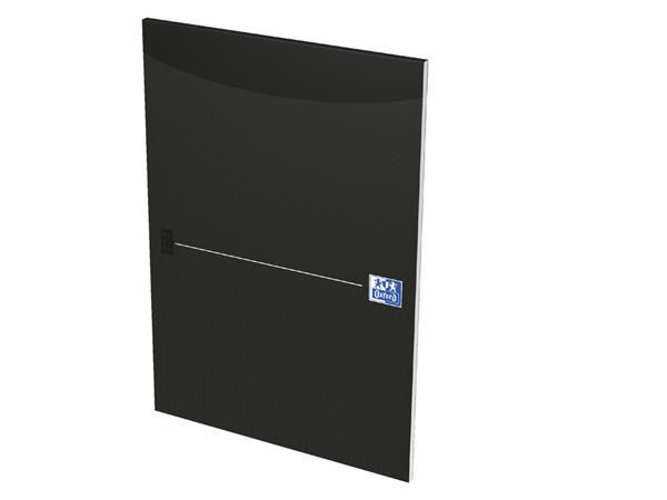 Schrijfblok Oxford Office Smart zwart A4 gelinieerd