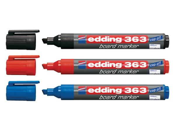 VILTSTIFT EDDING 363 WHITEBOARD SCHUIN 1-5MM BLAUW