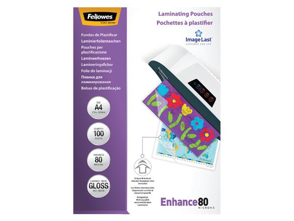 LAMINEERHOES FELLOWES A4 2X80MICRON