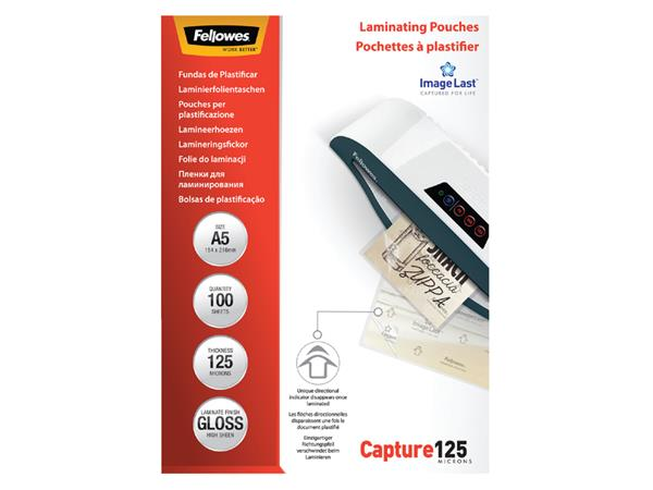 LAMINEERHOES FELLOWES A5 2X125MICRON